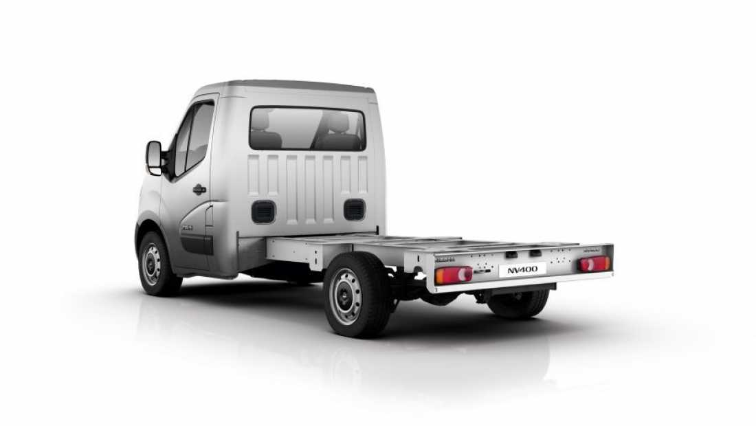 ABD Nissan - NV400 - chassis cab